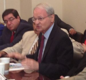 ZOA president Mort Klein at House Republican Roundtable in Washington, DC.