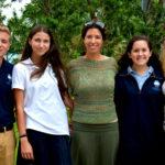 From left: Avi Bryan, Jordana Zackon, Yehudis Benhamou, Abigail Winograd, Sharona Whisler