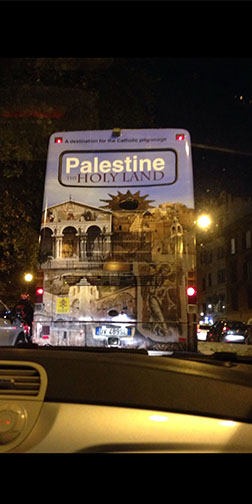 ORP Bus in Israel (Opera Romana Pellegrinaggi)